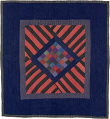 Amish Abstractions quilt