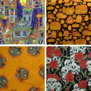 Halloween fabric copy