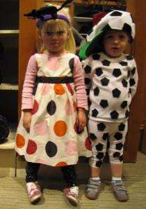 Jack and Olivia Halloween 2009