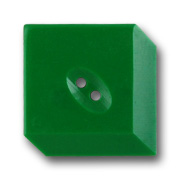 Green Vintage 3-D Button